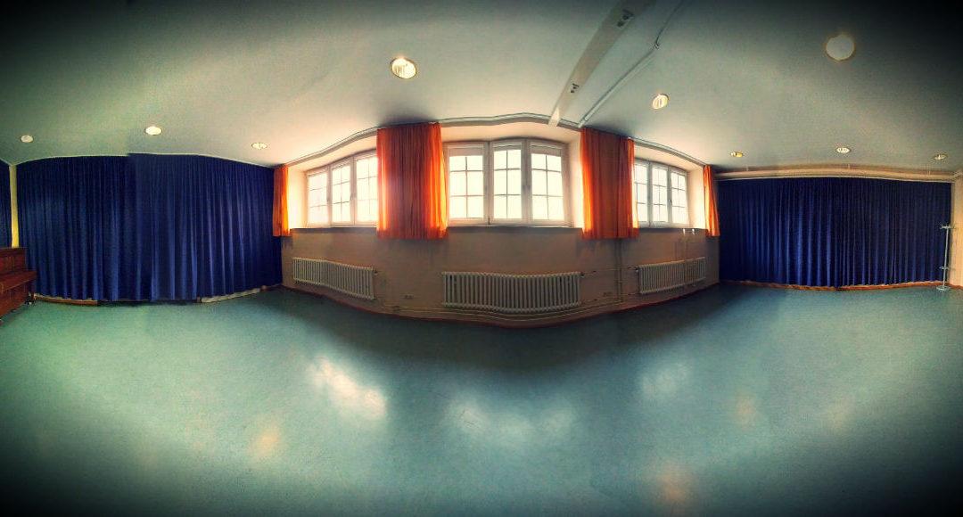 Ein toller Trainingsraum in Vischers Kulturladen
